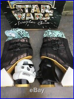 Irregular Choice The Death Star Ankle Boots Shoes Disney Star Wars Sz 40 New Box