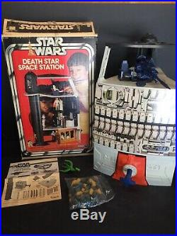 Kenner Death Star Space Station Playset 1978 Complete with box and instructions