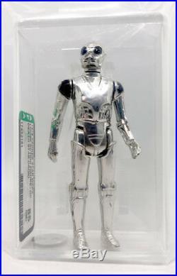 Kenner Star Wars Death Star Droid HK AFA 85 loose vintage