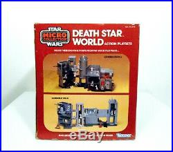 Kenner Star Wars Micro Collection Death Star World Playset Mint In Box