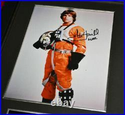 LAST Screen-Used Prop DEATH STAR Signed MARK HAMILL Star Wars, COA, DVD, Frame