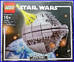 LEGO 10143 Star Wars Death Star II. 100% Complete with Orig Box & Instructions