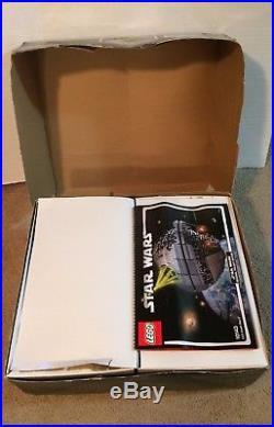 LEGO 10143 Star Wars Death Star II Complete Box Manual