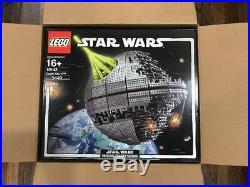 LEGO 10143 Star Wars Death Star II NEW and SEALED in LEGO shipper