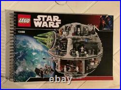 LEGO 10188 STAR WARS DEATH STAR UNOPENED BAGS With INSTRUCTIONS NO BOX RETIRED