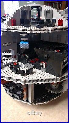 LEGO 10188 Star Wars Death Star 2008 ALL MINIFIGS