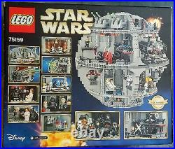LEGO 75159 The Death Star MINT CONDITION%COMPLETEALL MINIFIGS INCLUDED