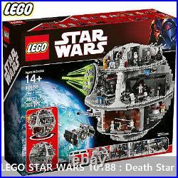 LEGO STAR WARS 10188 Death Star New & Sealed / Free shipping by Fedex Priority