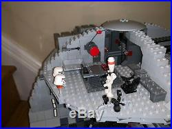 LEGO STAR WARS DEATH STAR 10188 Loose withmini figures (see description)
