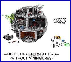 LEGO STAR WARS `` DEATH STAR ´´ Ref 75159 SIN MINIFIGURAS 100X100 ORIGINAL