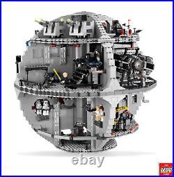 LEGO Star Wars 10188 Death Star 100% Complete & Excellent Condition Retired