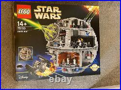 LEGO Star Wars 75159 Death Star New Sealed Unopened Retired Plus Display Stand