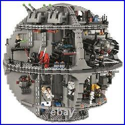 LEGO Star Wars 75159 Der Todesstern, Vitrinestück, mit Figuren und BA