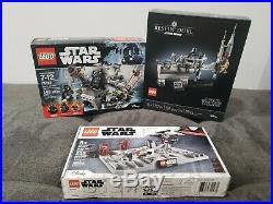 LEGO Star Wars Bespin Duel / Darth Vader Transformation / Death Star II Battle