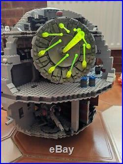 LEGO Star Wars Death Star (10188) 99% complete READ DESCRIPTION