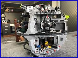 LEGO Star Wars Death Star 10188 Built Once Then Displayed NO PLAY