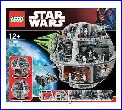 LEGO Star Wars Death Star (10188) IN LEGO FACTORY TRANSPORT BOX