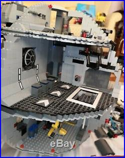 LEGO Star Wars Death Star 10188 Millennium Falcon 7965 AT-AT 75054 Incomplete