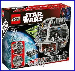 LEGO Star Wars Death Star 10188 New Factory Sealed In Original Brown LEGO Box