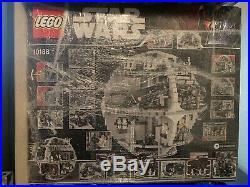 LEGO Star Wars Death Star 10188 Open Box Sealed Bags