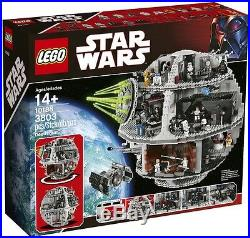 LEGO Star Wars Death Star 10188 Retired Set Rare Collectible 2008 Authentic New