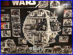 LEGO Star Wars Death Star (10188) complete with minifigs etc