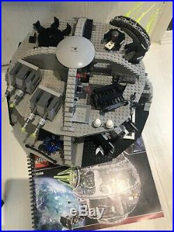 LEGO Star Wars Death Star (10188) with 24 Minifigures Plus Extras And Manual