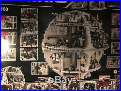 LEGO Star Wars Death Star 2008 (10188) Complete All Figures, Box, No Instructions