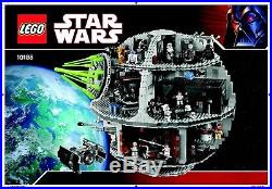LEGO Star Wars Death Star 2008 (10188) LEGO factory shipping box, new, unopened