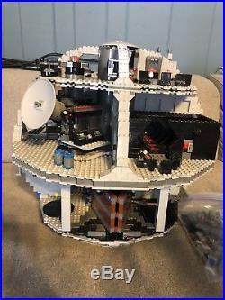 LEGO Star Wars Death Star 2016 (75159) No Mini Figures 97% Complete
