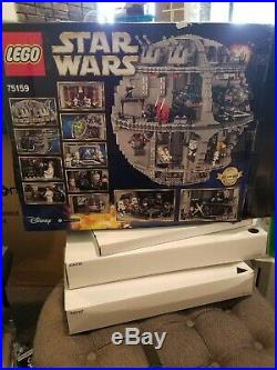 LEGO Star Wars Death Star 75159 Space Station Building Kit As Is For Parts
