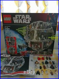 LEGO Star Wars Death Star Boxed Set 10188 Includes All The Minifigures
