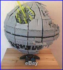 LEGO Star Wars Death Star II (10143) 100% Complete With Original Manual