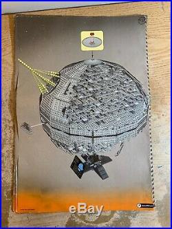 LEGO Star Wars Death Star II (10143) 86% complete 2973/3447 pieces & Manuel