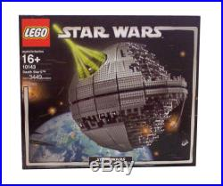LEGO Star Wars Death Star II (10143) Box Instructions