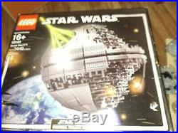 LEGO Star Wars Death Star II (10143) New, Partially still sealed