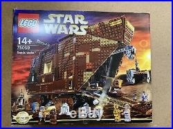 LEGO Star Wars SANDCRAWLER 75059 UCS COMPLETE WITH MINI FIGS SEALED CONTENTS