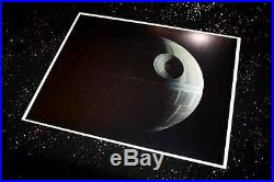 Large DEATH STAR Screen-Used PROP STAR WARS IV, COA London Props, DVD Lit CASE