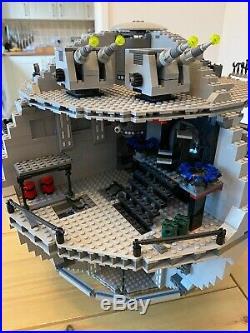 Lego 10188 Star Wars Death Star Retired Set No box, mini figures or instructions