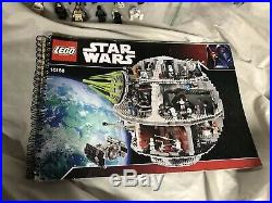 Lego 10188 Star Wars Lego Death Star With Minifigures Manual Used