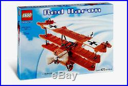 Lego Set 10024 Red Baron New Sealed HTF Airplane Tri Plane