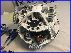 Lego Star Wars 10188 DEATH STAR 2008 Minifigures & Instructions PLUS Tie Fighter