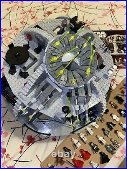 Lego Star Wars 10188 DEATH STAR with 36 Minifigures READ No Box 98% Complete
