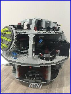 Lego Star Wars 10188 Death Star 100% Complete Withfigs Retired 2008 Version UCS