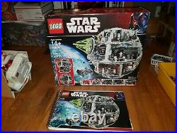 Lego Star Wars 10188 Death Star Box And Manual Only