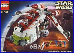 Lego Star Wars #7163 Republic Gunship AOTC New Sealed