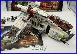 Lego Star Wars 7163 Republic Gunship Vintage, BOX AND MINI FIGURES, STARWARS