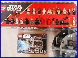 Lego Star Wars Death Star 10188, Complete with Minifigures, manual and box