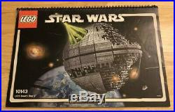 Lego Star Wars Death Star II (10143) 100% Complete with Manual VERY RARE (no Box)