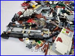 Lego Star Wars Minifig Parts Huge Bulk Lot Death Star Sandcrawler 19+ Pounds